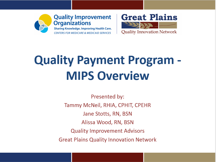 QPP MIPS Overview Thumbnail
