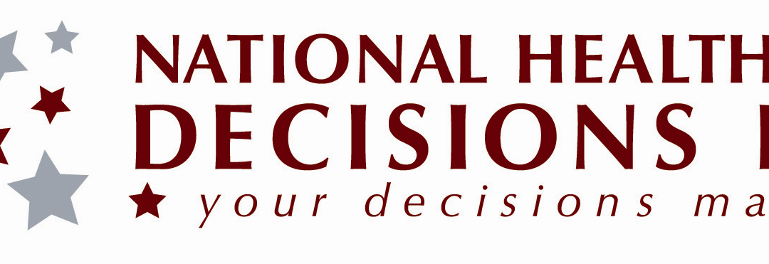 National Healthcare Decisions Day is April 16